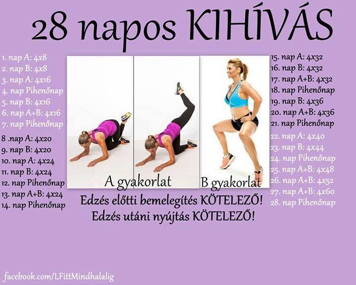 21 napos fogyás kihívás 4 lépésben, napos fogyás kihívás