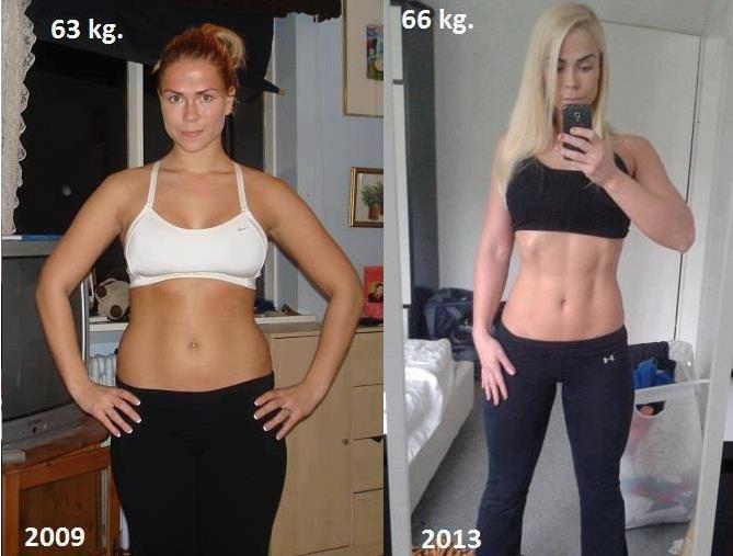 oldalsó profil fogyás előtt és után