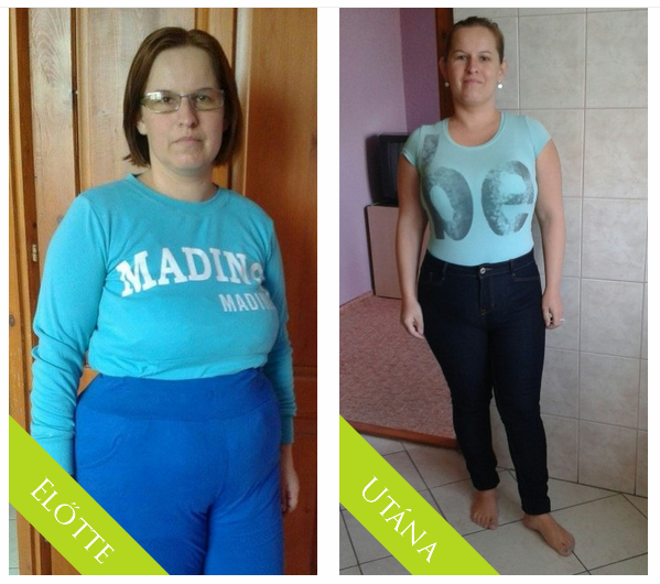 4 hónapos fogyás előtte és utána melyik fogyókúrás alkalmazás a legjobb