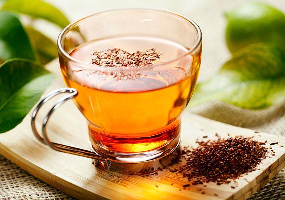 Forró tea fogyás