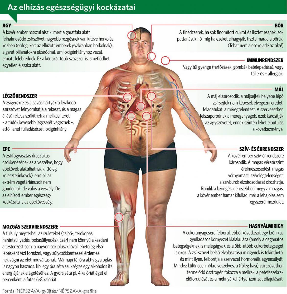 a kórosan elhízott fogyni akar