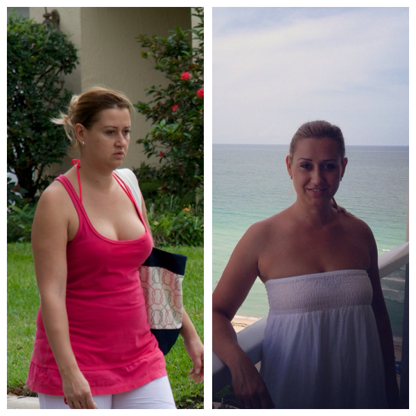 fogyás előtt és után 5 hónap