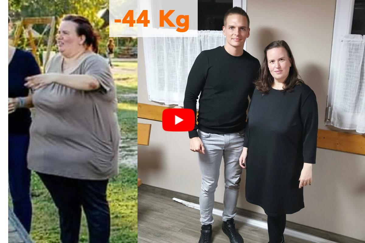 Egy fogyás története: 35 kilót adott le önsanyargatás nélkül Fogyás otthon sikertörténetek